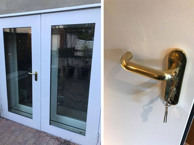 Acoustic Home Studio Doors