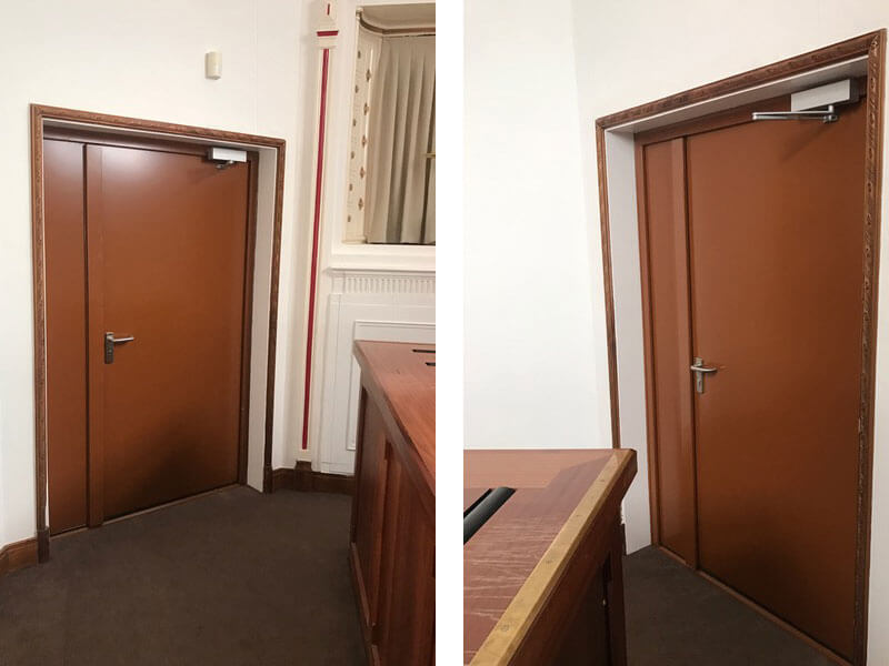 Medway Crematorium Acoustic Doors
